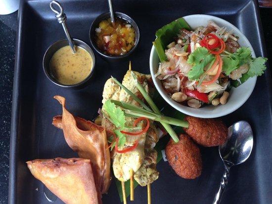 Anantara Bophut Koh Samui Resort: Food presentation is great and testy in Thai culture style