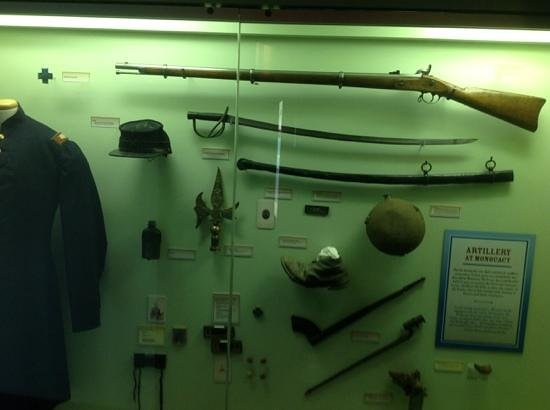 Monocacy National Battlefield: Museaum inside visitor's center