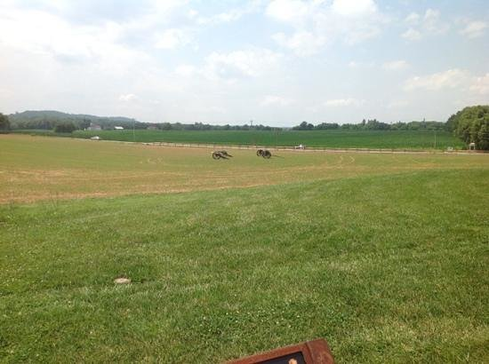 Monocacy National Battlefield: view of the battlefield