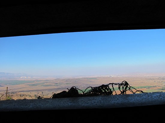 Mount Bental : See Syria from bunker watchpost