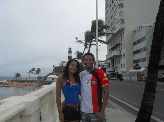 Farol da Barra Beach : farol