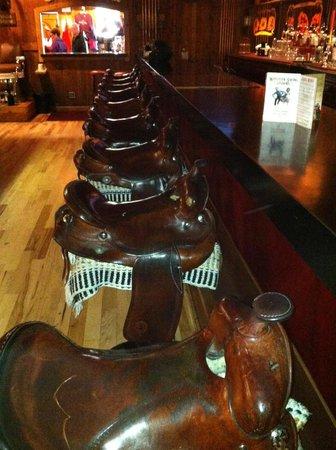 Saddle Bar Stools Picture Of Million Dollar Cowboy Bar