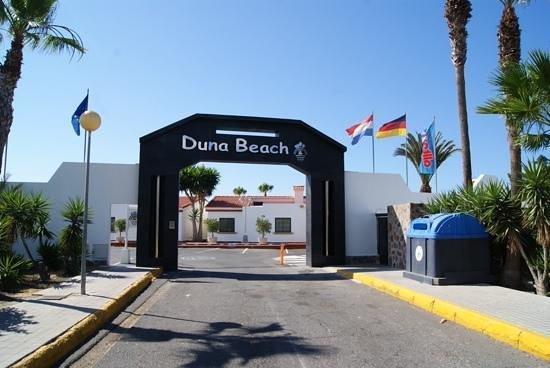 Duna Beach Bungalows : De ingang