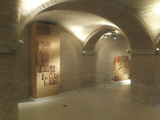 Neues Museum vaulting