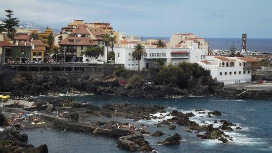 Valle Mar: Playa de San Telmo (Al lado del hotel)