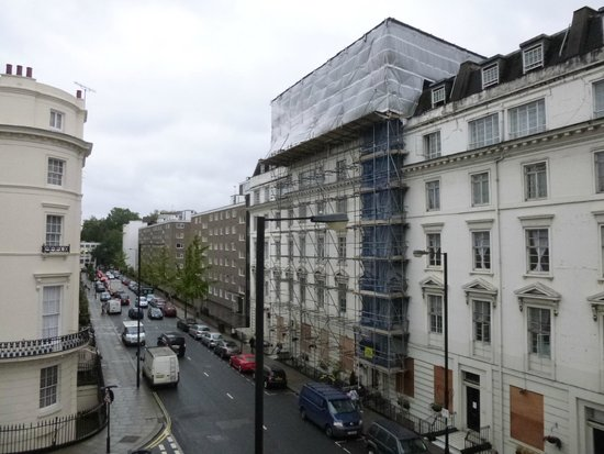 The Paddington Hotel: Vista para a Gloucester Terrace