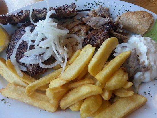 Der Grieche: Grillteller