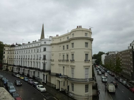 The Paddington Hotel: Vista do quarto