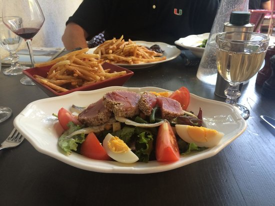 Maison Bronzini Le Bistrot du Moulin : Dinner salad