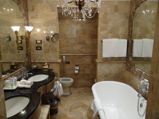 The St. Regis Rome : Bathroom, shower not shown