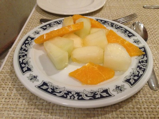 Guadalupe Hotel : Fruit desert
