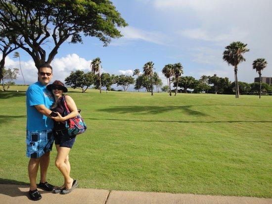Maui Eldorado: campo de golf al mar