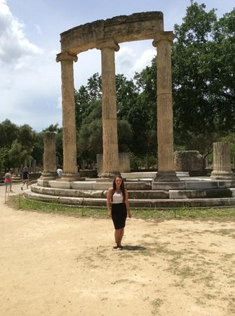 Ancient Olympia: temple of hera