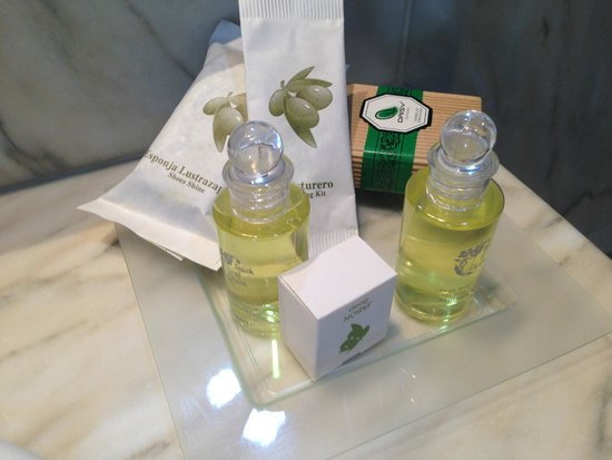 Guadalupe Hotel: Toiletries