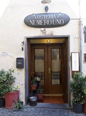 Entrance: Osteria Numero Uno