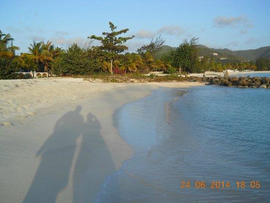 Starfish Jolly Beach Resort : gorgeous beach