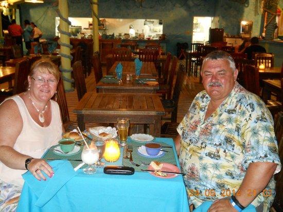 Starfish Jolly Beach Resort : Lydias restaurant