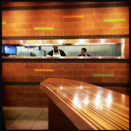 Bobby's Burger Palace: View of kitchen