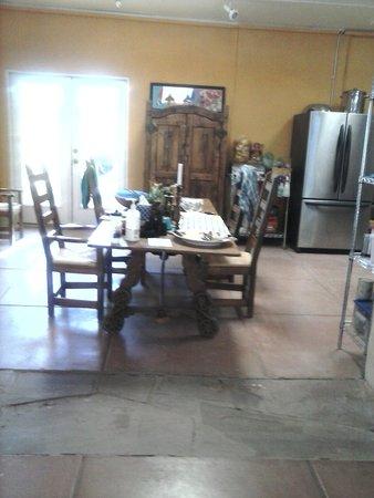 Rancho Gallina: Dining area