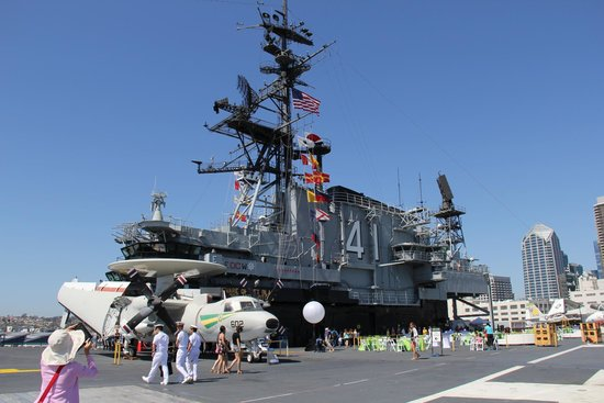 Musée de l'USS Midway : a great stop if you have time...