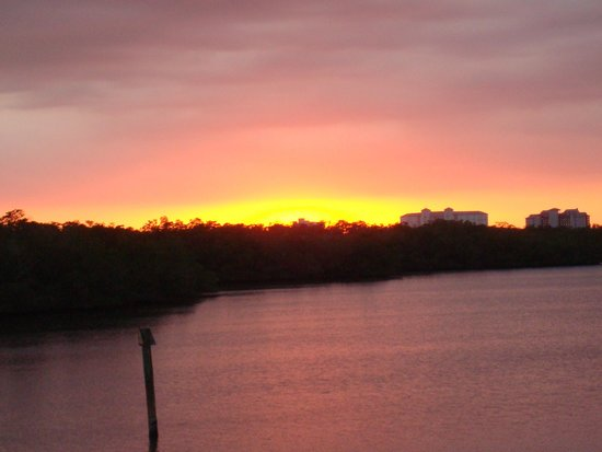 Sunset at The Lighthouse Restaurant