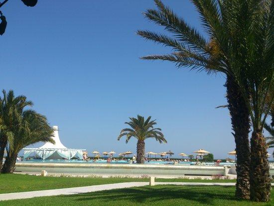 Iberostar Averroes: Jardines y piscina del hotel