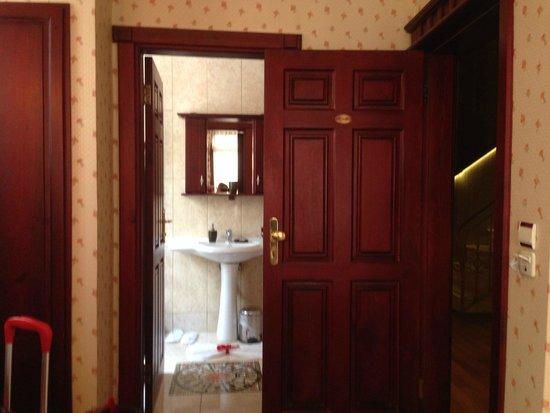Angel's Home Hotel: salle de bain avec grande douche 3 possibilités