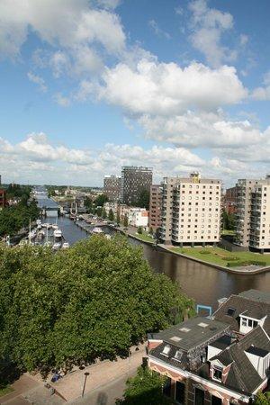 Hampshire Hotel - Groningen Centre : Uitzicht richting het Oosten