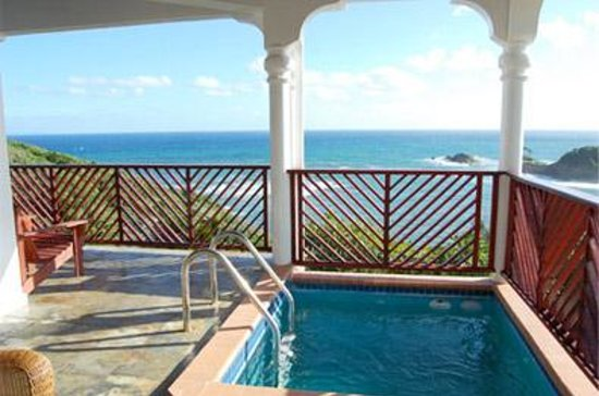 Calibishie Cove: Penthouse Suite - Private Plunge Pool