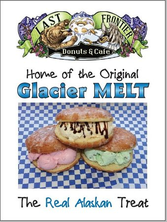 Last Frontier Donuts and Cafe: Glacier Melt