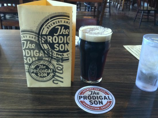 The Prodigal Son Brewery and Pub: Menu and Bruce Lee Porter