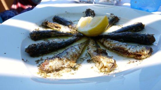 Roka Kafeneio Ouzeri : Sardines
