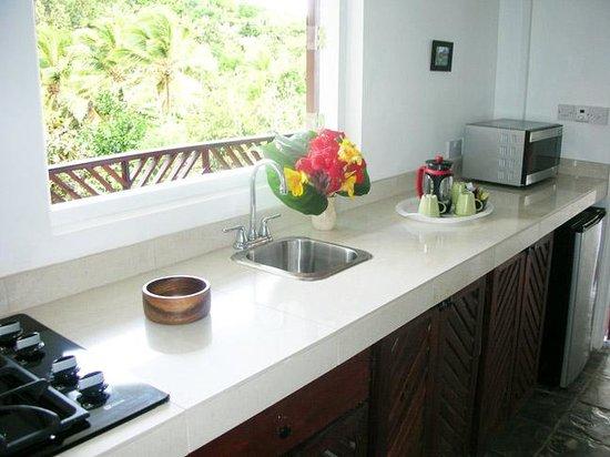 Calibishie Cove : Rainforest Suite - Kitchenette