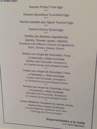 Vincci Seleccion Posada del Patio: Breakfast 'eggs to order'