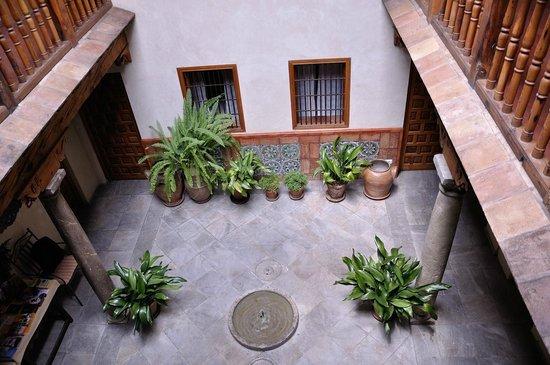 Santa Isabel la Real : la petite fontaine
