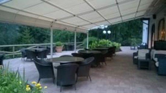 Hotel Ribno : esterno ristorante