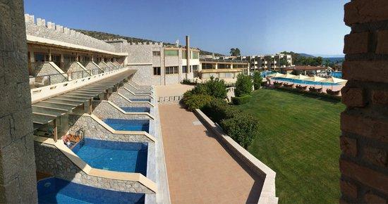 Kandia's Castle Hotel, Resort & Thalasso : Номера с бассейнами