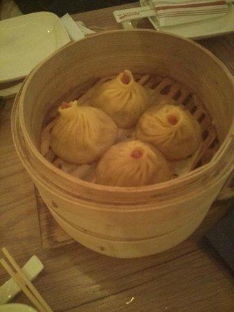 Red Farm: soup dumplings