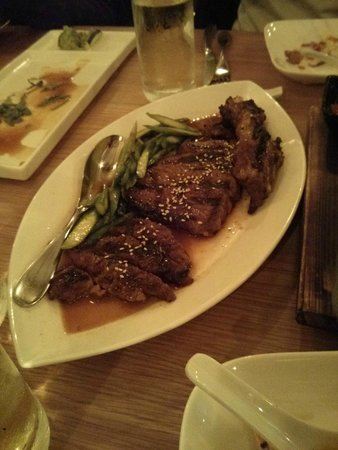 Red Farm: grilled steak