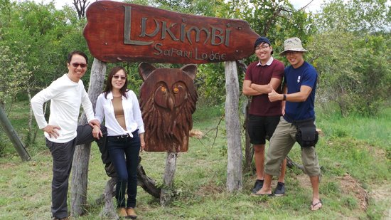 Lukimbi Safari Lodge : Main Entrance