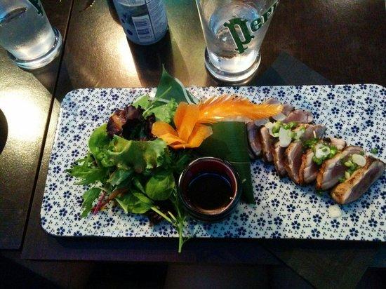 Wasabi d'Azur: Salade with tuna fish