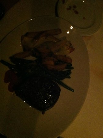 Portland City Grill : Steak - sorry pic is so dark