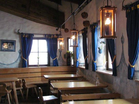 Bergrestaurant Kaiserburg: Столики