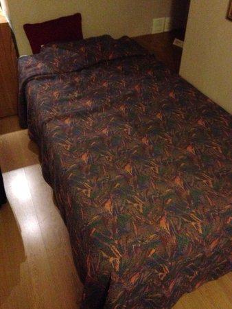 El Conquistador Hotel: Old and dirty bed