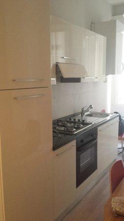 Casa Campo de' Fiori: kitchen in our suite