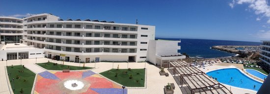 Aguamarina Golf Apartments: Our sea view room view