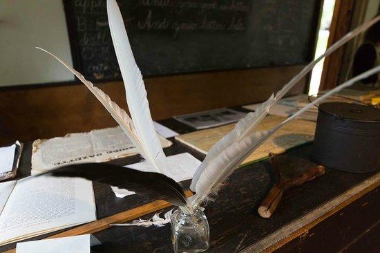 Historic Deerfield: Teachers Desk - Wapping School House