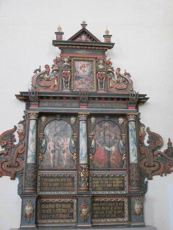 Musée de l'histoire de Suède : altar