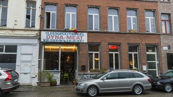 cafe Het gouden hoofd : In de Slachthuisstraat