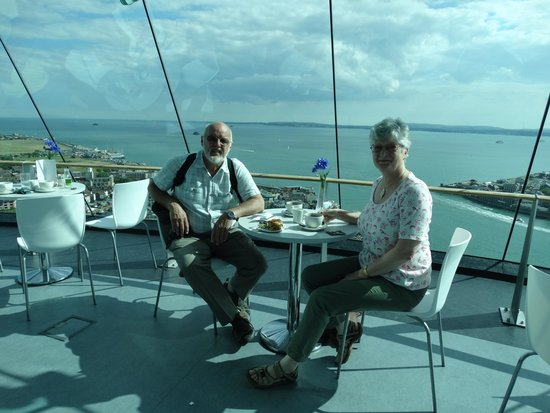 Spinnaker Tower: Cream tea with a view